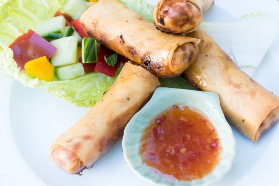 Springroll with Vegetables - Lumpiang Gulay