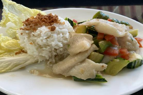 Fishfilet with Cocosmilk - Ginataang Isda