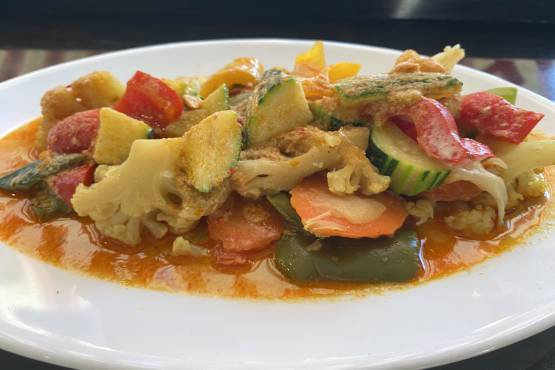 Mixed Vegetable Red Curry - Ginataang Gulay
